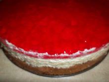 Ciasto z galaretką i kremem budyniowym