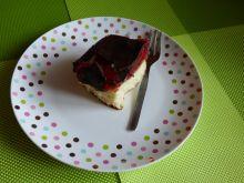Ciasto z galaretką wiśniową