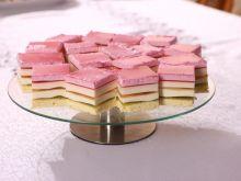 Ciasto z galaretkami tęczowe