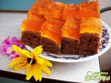 Ciasto z gruszkami i galaretką