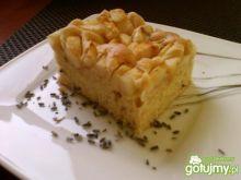 Ciasto z gruszkami z lawendową nutą