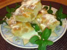 Ciasto z jabłkami i ananasem na oleju
