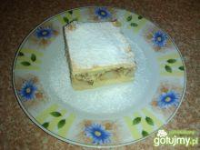 Ciasto z jabłkami i cynamonowym kokosem