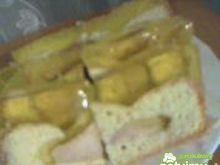 Ciasto z jabłkami i galaretką