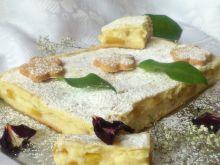 Ciasto z jabłkami i kremem karpatkowym wg Di