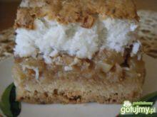 Ciasto z jabłkami i wiórkami kokosowymi