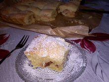 Ciasto z jabłkami na serku waniliowym