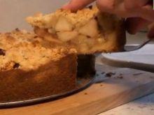 Ciasto z jabłkami [video]