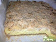 Ciasto z jabłkiem i kruszonką
