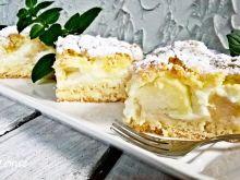 Ciasto z jabłkiem i pigwą