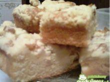 Ciasto z jabłkowym musem i kruszonką