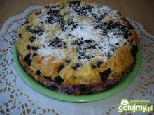 Ciasto z jagodami i kruszonką