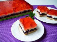 Ciasto z jeżynami i borówką amerykańską