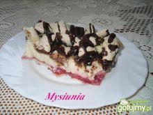 Ciasto z kaszą manną i błonnikiem