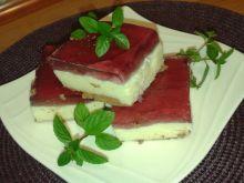 Ciasto z kaszy manny i galaretki