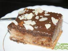Ciasto z kaszy manny z nutellą