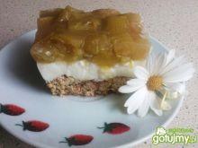 Ciasto z kefirem i rabarbarem - diet