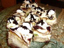 Ciasto z kiwi i polewą