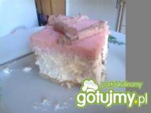 ciasto z kremem.
