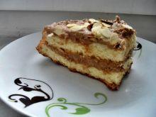 Ciasto z kremem chałwowym