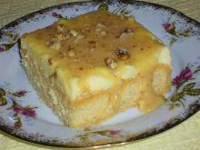 Ciasto z kremem i kajmakiem