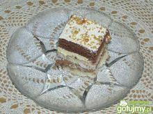 Ciasto z kremem i kokosem