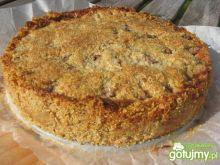 Ciasto z mąki amarantusowej ze śliwkami