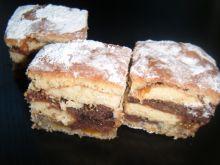 Ciasto z makiem i biszkoptami