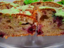 Ciasto z malinami