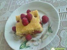 Ciasto z malinami 7
