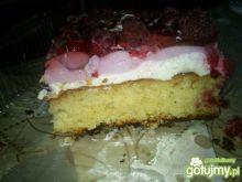 Ciasto z malinami od Hamrocyka