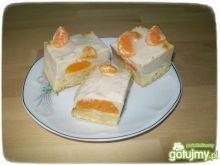 Ciasto z mandarynkami i herbatą