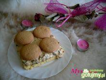 Ciasto z masą i bakaliami