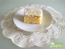 Ciasto z masą i lukrem