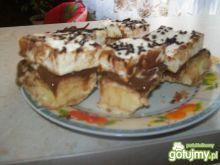 Ciasto z masą krówkową czekoladową