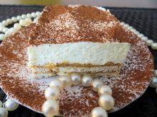 Ciasto z masą krówkową i karpatkową