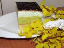 Ciasto z masą Kubusiową i masą śmietankową