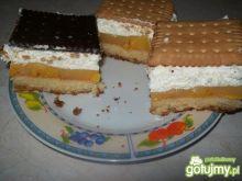 Ciasto z masą mandarynkową