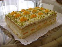 Ciasto z masa serowa i mandarynkami