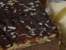 ciasto z masą z kaszy mannej