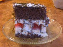 Ciasto z mleczną pianką
