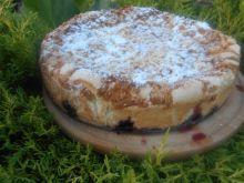 Ciasto z morelami i borówkami