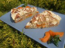 Ciasto z morelami i nektarynkami