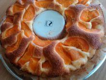 Ciasto z morelami i skórką cytrynową