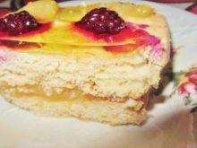 Ciasto z musem pomarańczowym