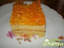 Ciasto z nektarynkami i galaretką