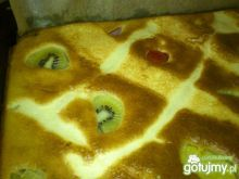 ciasto z owocami od Hamrocyka