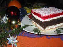 Ciasto z piernikową wkładką