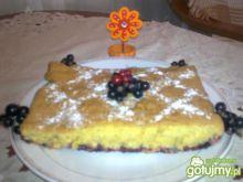 Ciasto z porzeczkami