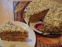 Ciasto z posypką z opłatka